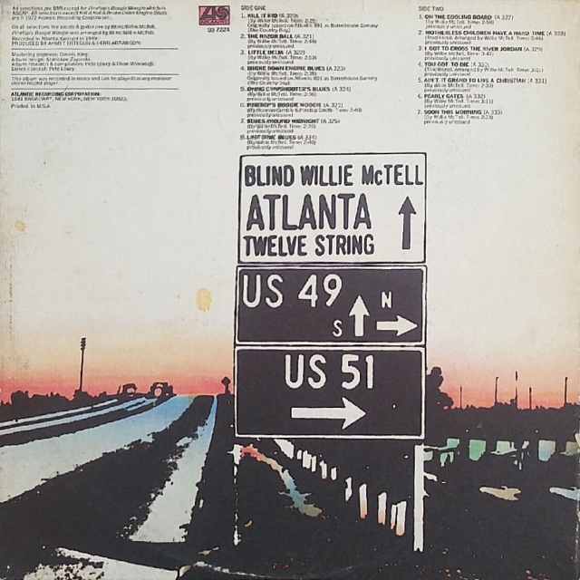Atlanta 12 String Back